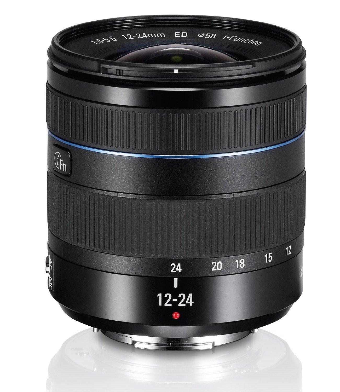 Bild zu 12-24mm Objektiv Samsung EX-W1224ANB F4-5.6 ED (Samsung NX) für 353,33€ inkl.Versand