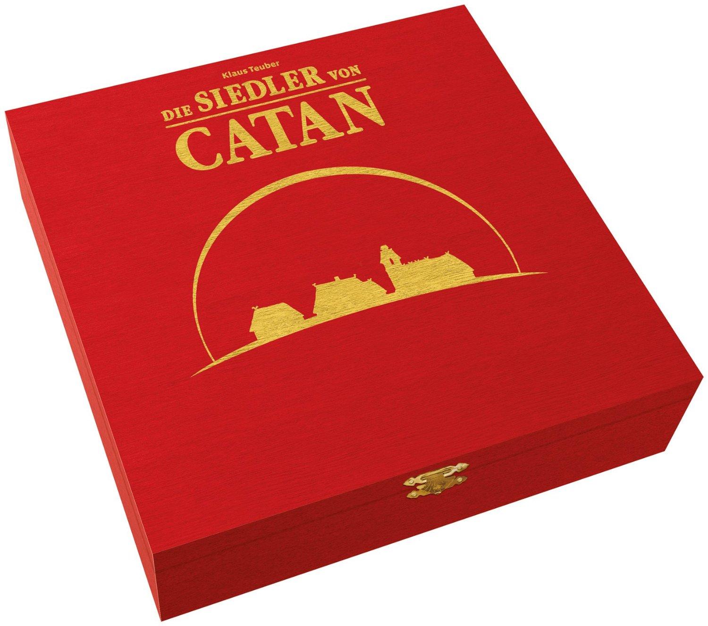 Bild zu Die Siedler von Catan – Jubiläumsausgabe aus Holz für 29,75€ inkl. Versand