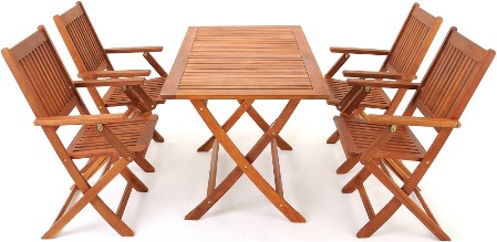 Bild zu Garten-Sitzgruppe Sydney aus Akazienholz für 134,90€ inkl. Versand