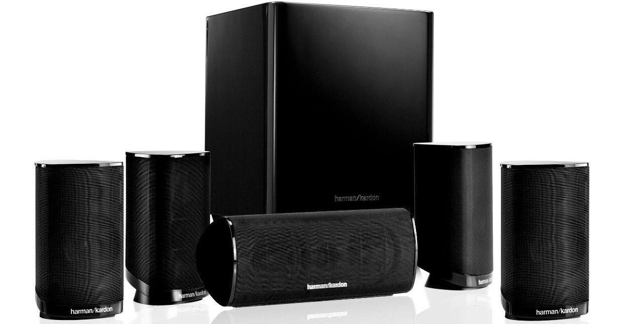 Bild zu 5.1 Lautsprechersystem Harman Kardon HKTS 9 BQ für 294€ inkl. Versand