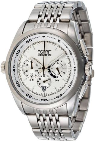 Bild zu [Ausverkauft] Herren Armbanduhr Esprit Classic White (4431952) für 31,06€ inkl. Versand