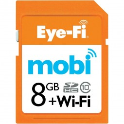 Bild zu Eye-Fi Mobi Speicherkarte SDHC + Wifi (8 GB) für 14,99€ inkl. Versand