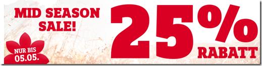 Bild zu [Top] SportScheck: 25% Extra-Rabatt auf 28 Marken (Adidas, Bench etc.), auch auf bereits reduzierte Artikel