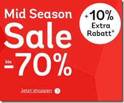 Bild zu Mirapodo: Sale mit bis zu 70% Rabatt + 10% Extra-Rabatt