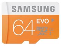 Bild zu Samsung EVO MicroSDXC 64GB UHS-I Class 10 Speicherkarte für 19,99€