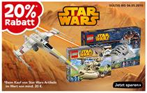 """Bild zu Toys""""R""""Us: 20% Rabatt auf alle Star Wars Artikel (ab 20€ MBW)"""