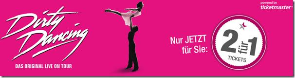 Bild zu Dirty Dancing Musical Hamburg oder Nürnberg – 2 Tickets zum Preis von 1