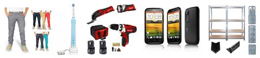 Bild zu Die restlichen eBay WOW Angebote in der Übersicht, z.B. HTC Desire X Smartphone für 99€