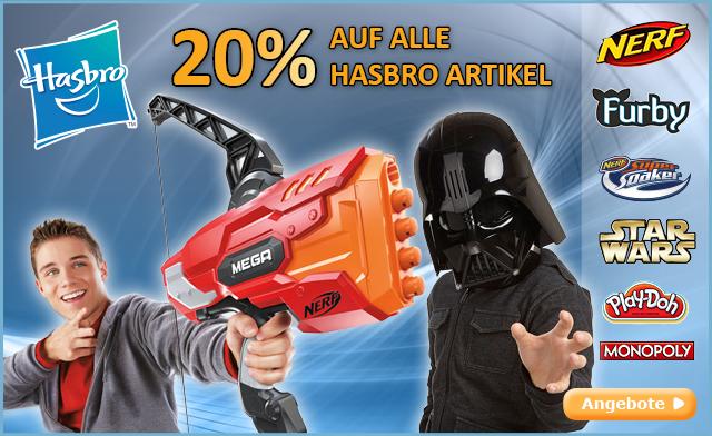 Bild zu Baby-Markt: 20% Rabatt auf Hasbro Produkte