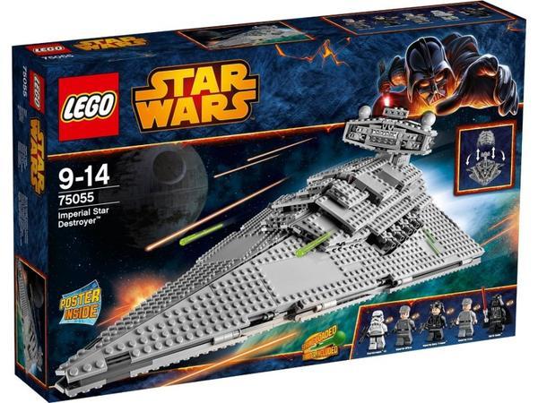 Bild zu Lego Star Wars Imperial Star Destroyer (75055) für 91,20€ inkl. Versand