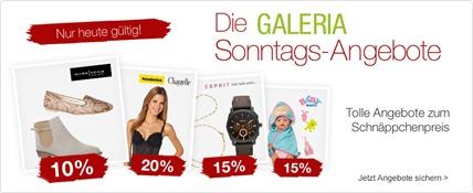 Bild zu Galeria Kaufhof Sonntags-Angebote, z.B. 20% Rabatt auf alle Artikel von Samsonite + weitere Rabatte möglich