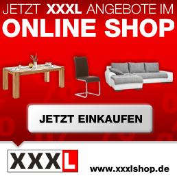 Bild zu XXXLShop: Gutscheincodes mit bis zu 500€ Rabatt (1.500€ MBW)