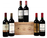 Bild zu Weinvorteil: Goldprämierte Bordeaux-Selektion (6 Flaschen in einer Holzkiste) für 31,49€