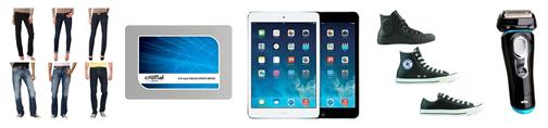 Bild zu Die restlichen eBay WOW Angebote in der Übersicht, z.B. Apple iPad Mini 2 32GB Retina Wi-Fi für 289€