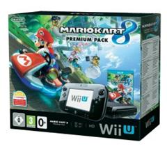 Bild zu Nintendo Wii U Konsole Premium Pack 32 GB Schwarz inkl. Mario Kart 8 für 249,90€