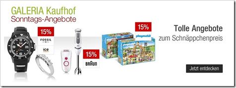 Bild zu Galeria Kaufhof Sonntags-Angebote, z.B. 10% Rabatt auf alle Artikel von LEGO Star Wars + 10% Newsletter-Rabatt