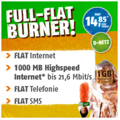 Bild zu Telekom Allnet-Flat + SMS Flat + 1GB Datenflat für 14,85€/Monat