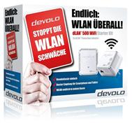 Bild zu Devolo dLAN 500 WiFi Starter Kit für 69,90€