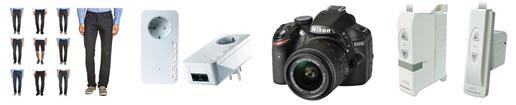 Bild zu Die restlichen eBay WOW Angebote in der Übersicht, z.B. Powerline Starter Kit 550 duo+ für 59,99€
