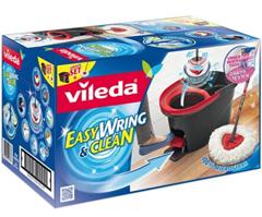 Bild zu Vileda EasyWring & Clean Wischmop Set + Gratis Actifaser Tuch + Ersatzbezug für 31,49€