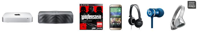 Bild zu Die Saturn Late Night Shopping Angebote, so z.B. Monster DNA Kopfhörer für 95€
