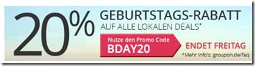 Bild zu Groupon: 20% Rabatt auf Lokale Deals, so z.B. Tageskarte Zoo Stukenbrock für 11,12€