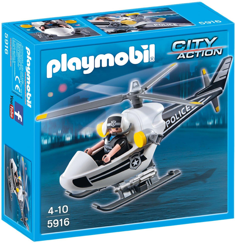Bild zu [Prime] Playmobil Polizeihubschrauber (5916) für 5,92€ inkl. Versand