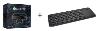 Bild zu Microsoft Xbox One 500 GB + Halo – The Master Chief Collection & AIO Tastatur für 299€