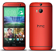 Bild zu HTC One (M8) LTE Smartphone rot für 359€