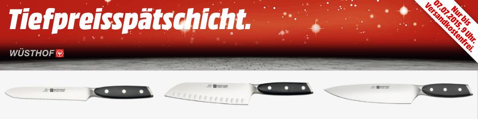 Bild zu Media Markt Tiefpreisspätschicht mit verschiedenen XLine Messern von Wüsthof