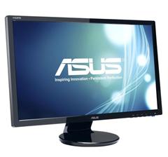 """Bild zu ASUS VE247T 59,9 cm (24"""") 16:9 Full-HD TFT Monitor mit Lautsprechern für 125€"""