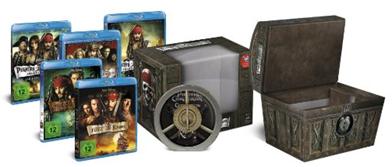 Bild zu Fluch der Karibik – Die Piraten-Quadrologie (Limitierte Collector's Edition Schatztruhe inkl. Soundtrack) [Blu-ray] für 24,99€