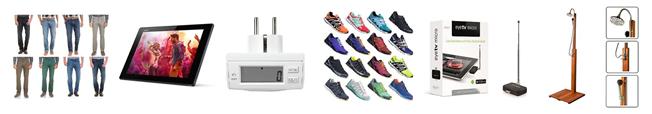 Bild zu Die heutigen eBay WOW Angebote in der Übersicht, z.B. [B-Ware] Sony Xperia Tablet Z 16GB, WLAN+4G für 229€