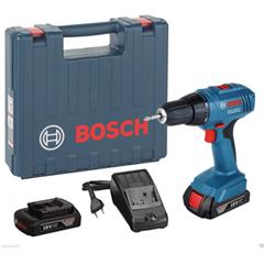 Bild zu BOSCH Akku-Bohrschrauber GSR 1800 Li inkl. 2 x 1,5Ah Akku im Koffer für 99,95€