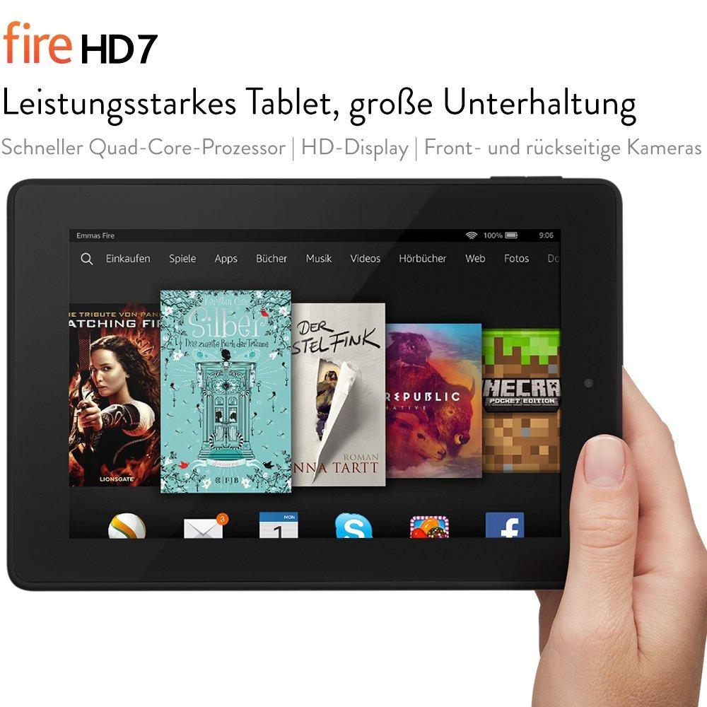 Bild zu Amazon: 7 Zoll Tablet Kindle Fire HD mit 40€ Rabatt