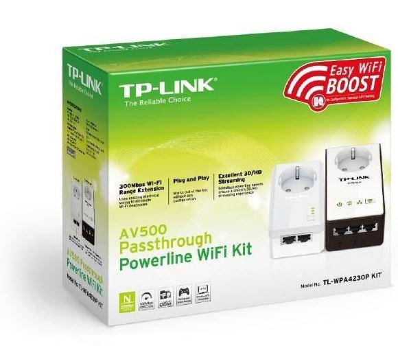Bild zu [ab 9Uhr] Powerline-Netzwerkadapter TP-Link TL-WPA4230P Kit für 69,90€ inkl. Versand