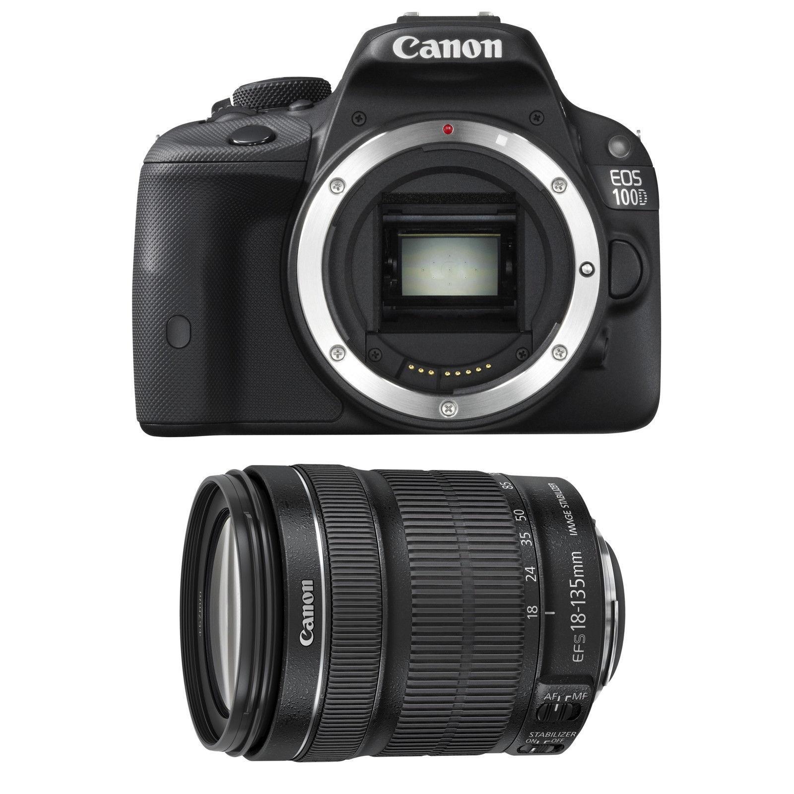Bild zu Canon EOS 100D mit EF-S 18-135 IS STM für 569€ inkl.Versand