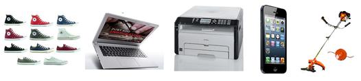 Bild zu Die restlichen eBay WOW Angebote in der Übersicht, z.B. RICOH SP 213suw 3-in-1 WLAN Mono Laserdrucker für 86,99€