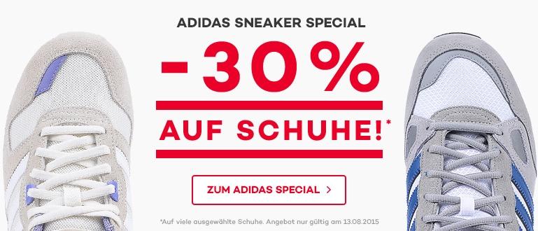 Bild zu [Nur heute] Planet Sports: 30% Rabatt auf ausgewählte Adidas Sneaker