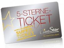 Bild zu Cinestar 5-Sterne-Superticket (5mal ins Kino) für 25€