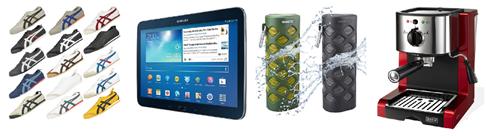 Bild zu Die eBay WOW Angebote in der Übersicht, z.B. Samsung Tab 3 P5210 (16GB, WiFi) für 179,90€