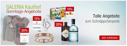 Bild zu Galeria Kaufhof Sonntags-Angebote, z.B. 15% Rabatt auf alle Artikel von LEGO DUPLO + 10% Newsletter-Rabatt
