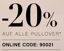 Bild zu ORSAY: 20% Rabatt auf alle Pullover & Cardigans