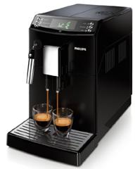 Bild zu Philips HD8831/01 Kaffeevollautomat 3100 Serie mit Dampfdüse (Dampfdüse) für 344,01€