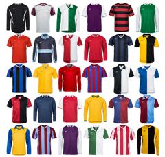 Bild zu Verschiedene unbeflockte Nike Fußball-Trikot für je 9,99€