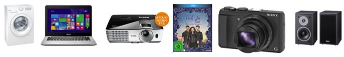 Bild zu Die Saturn Late Night Shopping Angebote, so z.B. Die Twilight Saga – (Blu-ray) für 11,99€