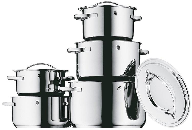 Bild zu 5-teiliges Kochtopfset WMF Gala Plus (0711056040) für 149€