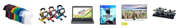 Bild zu Die eBay WOW Angebote in der Übersicht, z.B. Samsung UE-43J5550 108cm LED Fernseher für 399,90€