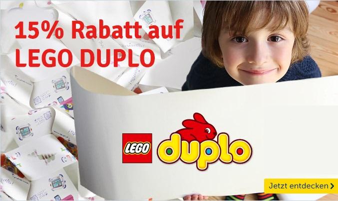 Bild zu MyToys: 15% Rabatt auf Lego Duplo Artikel (ab 40€ MBW)