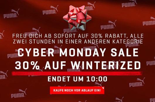Bild zu Puma: 30% Rabatt in wechselnden Kategorien zwischen 8–24 Uhr